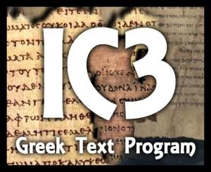 IC3GreekTextProgram