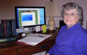 """Ruth Oliver -- """"It's all Greek to me -- and I love it!"""""""